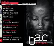 BAC! Festival – Blow Gallery [Arte de Guerrilla]