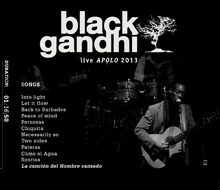BLACK GANDHI live at sala apolo – PERSONAS